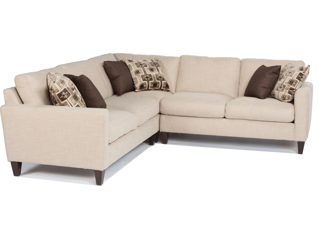 Flexsteel River3-Piece Sectional