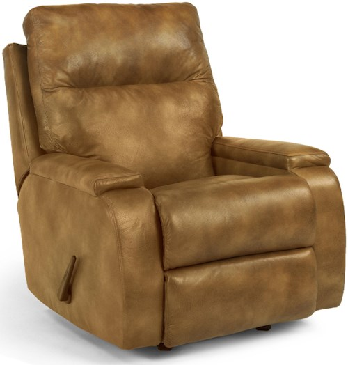 Flexsteel Runway Contemporary Rocking Recliner