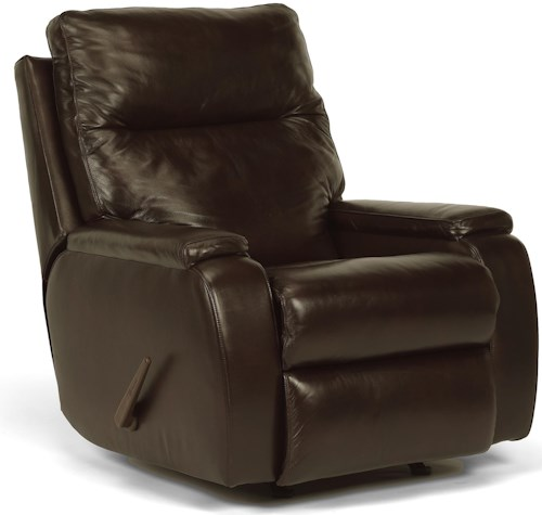 Flexsteel Latitudes - Runway Contemporary Rocking Recliner