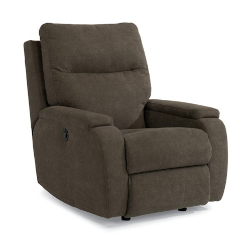 Flexsteel Runway Contemporary Power Recliner