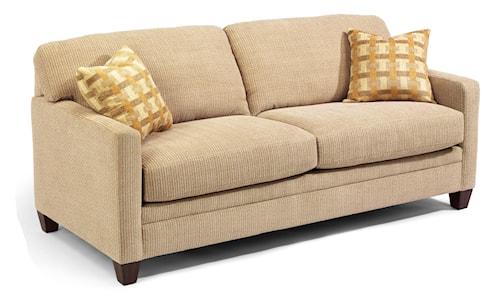 Flexsteel Sofa Bed Mattress: Flexsteel Serendipity Upholstered Queen Sofa Sleeper