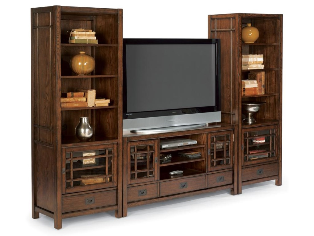 Shown with Two Piers and Entertainment Base to Create Entertainment Center