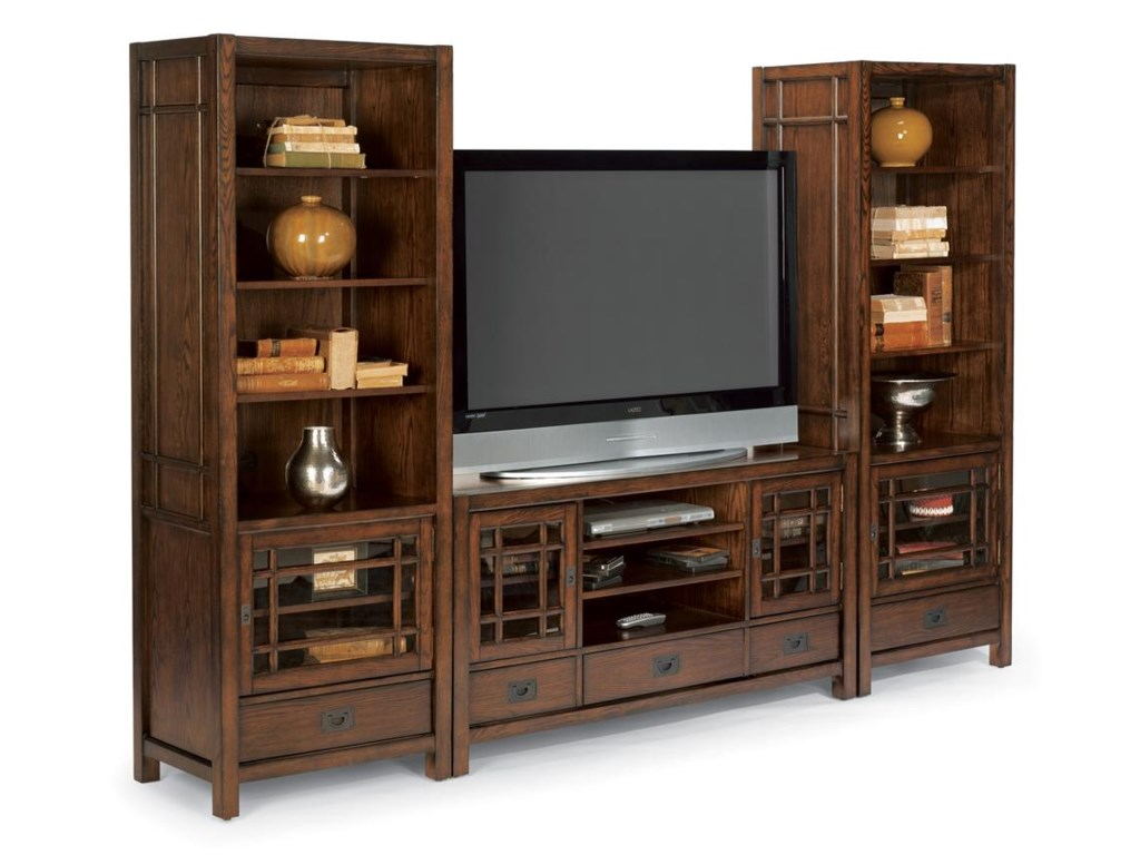 Shown with Two Piers to Create Entertainment Center