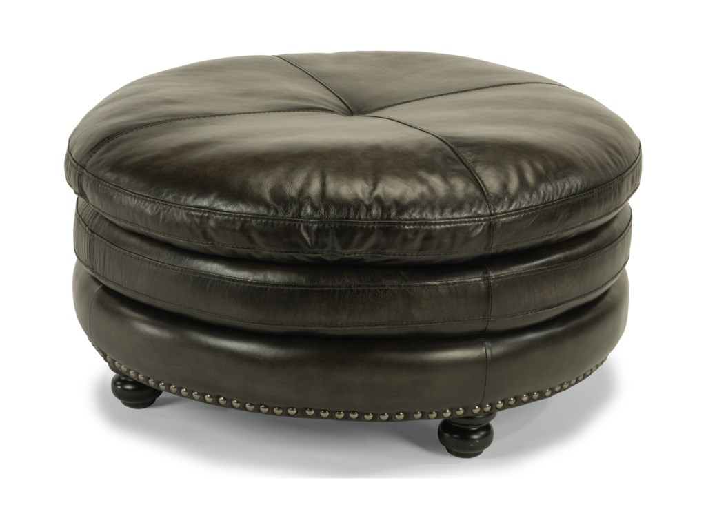 Flexsteel Latitudes-SuffolkCocktail Ottoman