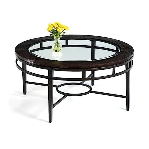 Flexsteel Symphony Round Cocktail / Coffee Table
