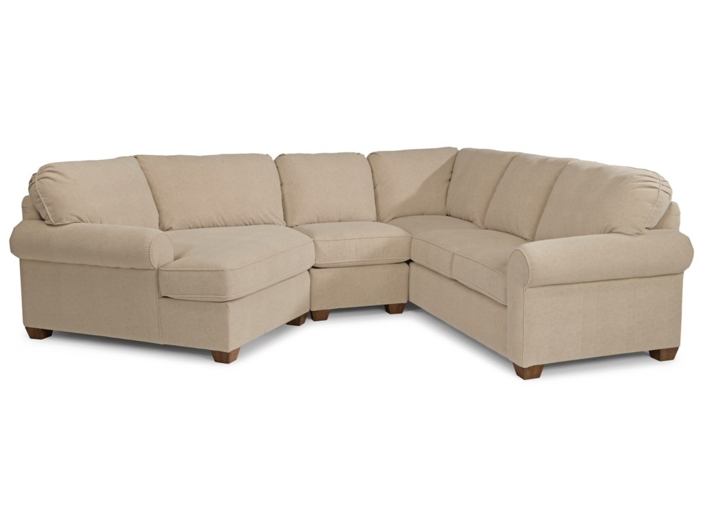 Thornton 3 Piece Sectional Sofa By Flexsteel