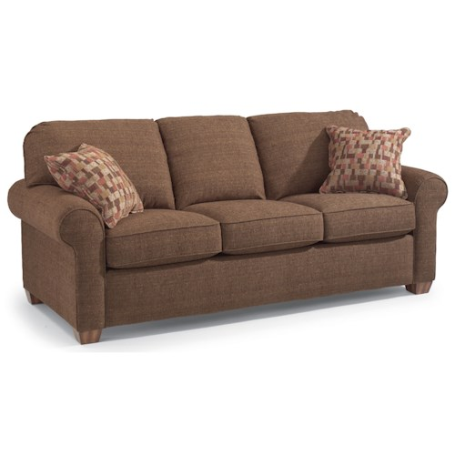 Flexsteel Thornton Stationary Upholstered Sofa