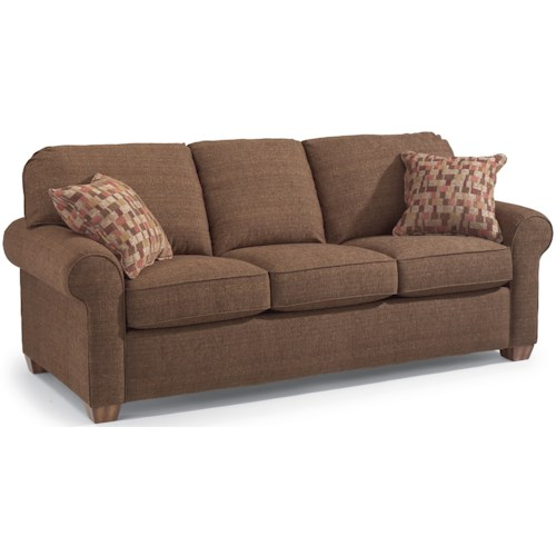 Flexsteel Vail Sofa Review: Flexsteel Thornton Stationary Upholstered Sofa