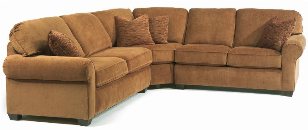 Flexsteel Sectional Sofa 5535 Thornton Sectional Sofa