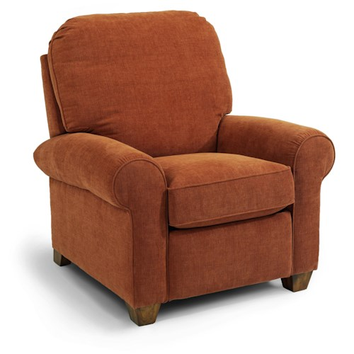 Flexsteel Thornton High Leg Recliner Belfort Furniture