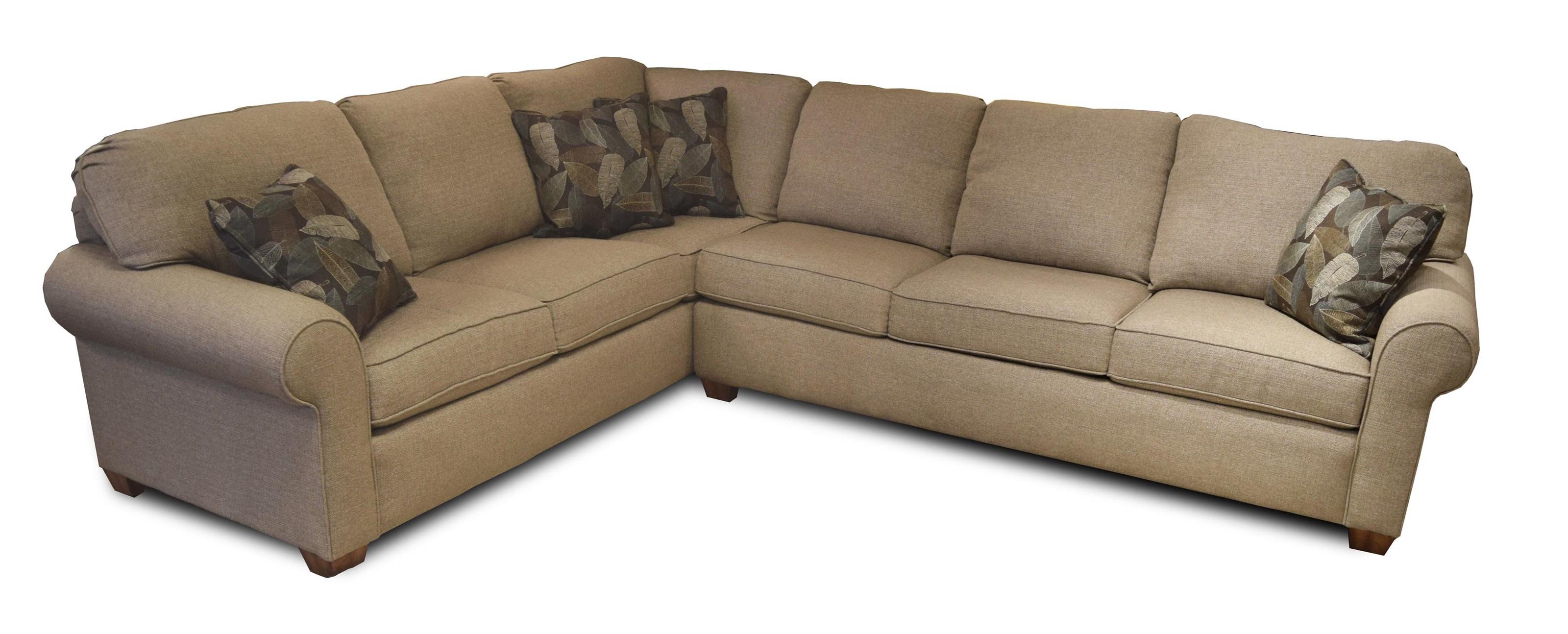 Flexsteel Thornton 2 Piece Sectional   Ruby Gordon Furniture U0026 Mattresses    Sectional Modular Components