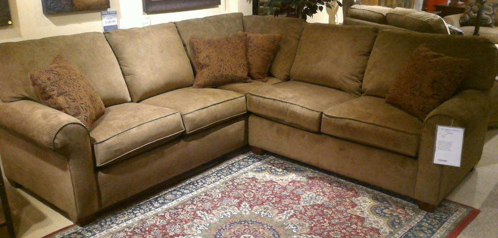 Flexsteel Thornton 2 Piece Sofa Sectional Dunk & Bright