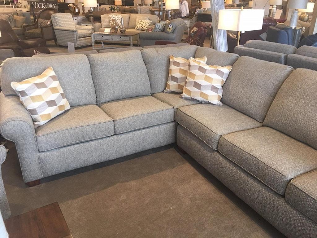 Flexsteel Thornton 2 pc Sectional Sofa