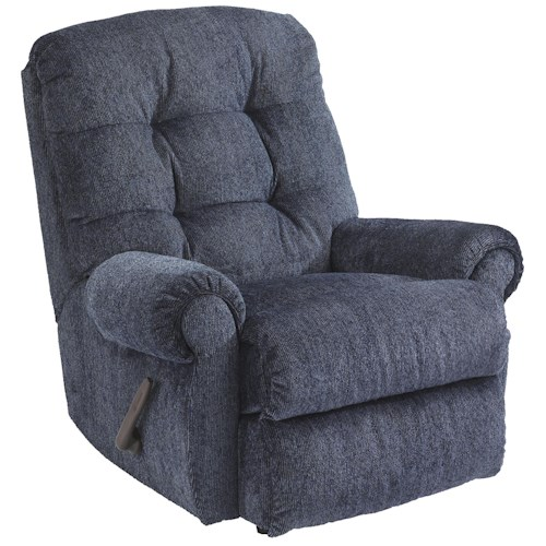 Flexsteel Torrence Power Rocker Recliner with Tufted Back