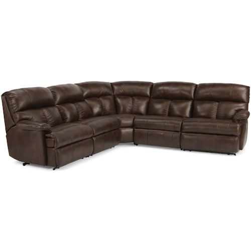Flexsteel Triton  Power Reclining Sofa Sectional
