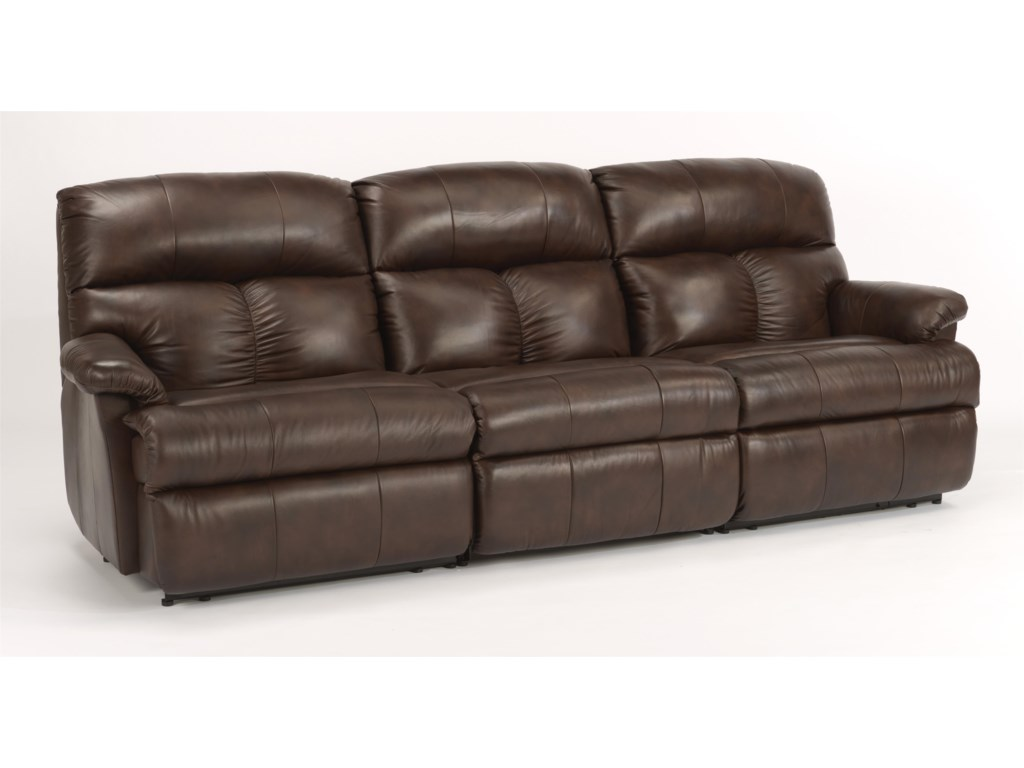 Flexsteel Triton 3 Pc Reclining Sectional Sofa