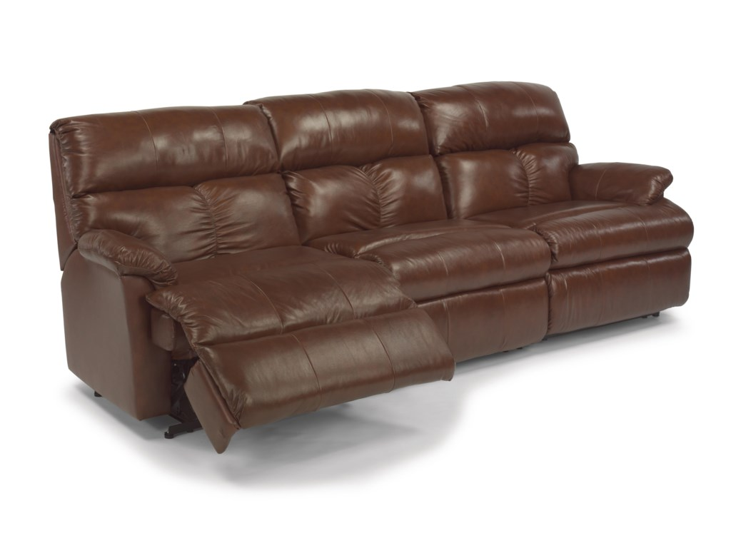 Flexsteel Triton 3 Pc Power Reclining Sectional Sofa