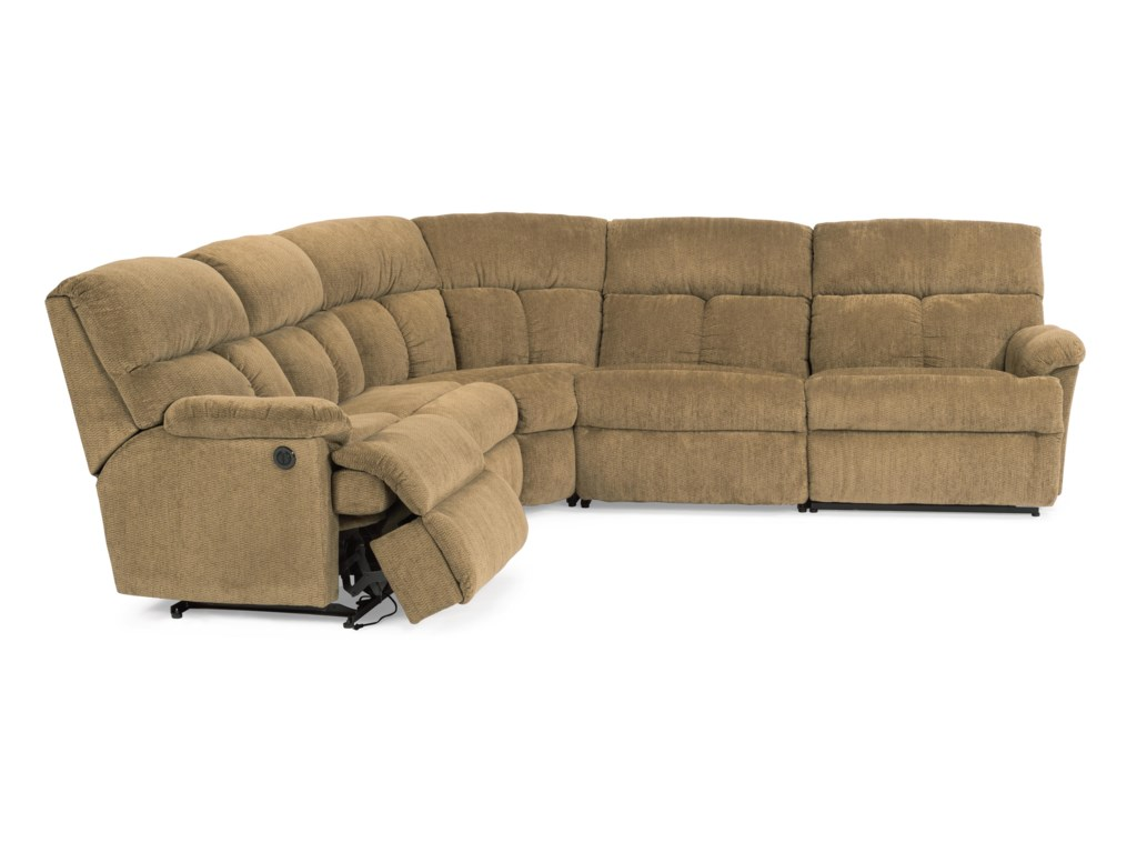 Flexsteel Triton Power Reclining Sectional