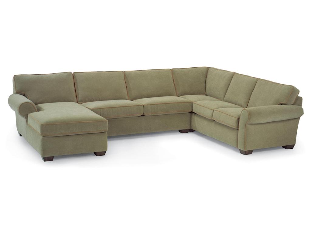 Flexsteel VailStationary Sectional Sofa