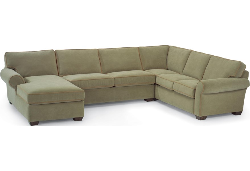 Flexsteel Vail Stationary Sectional