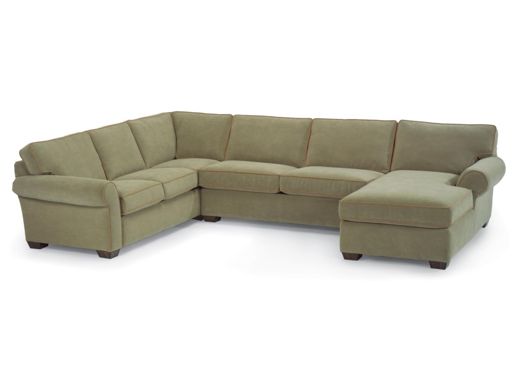Flexsteel VailStationary Sectional Sofa