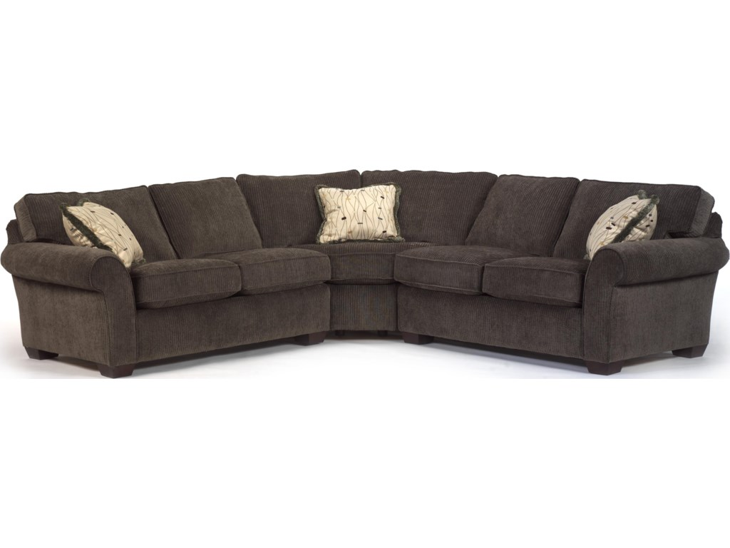 Design Corner Sectional Sofa flexsteel vail corner sectional sofa dunk bright furniture sectional