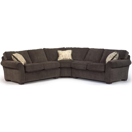 Flexsteel Vail Corner Sectional Sofa