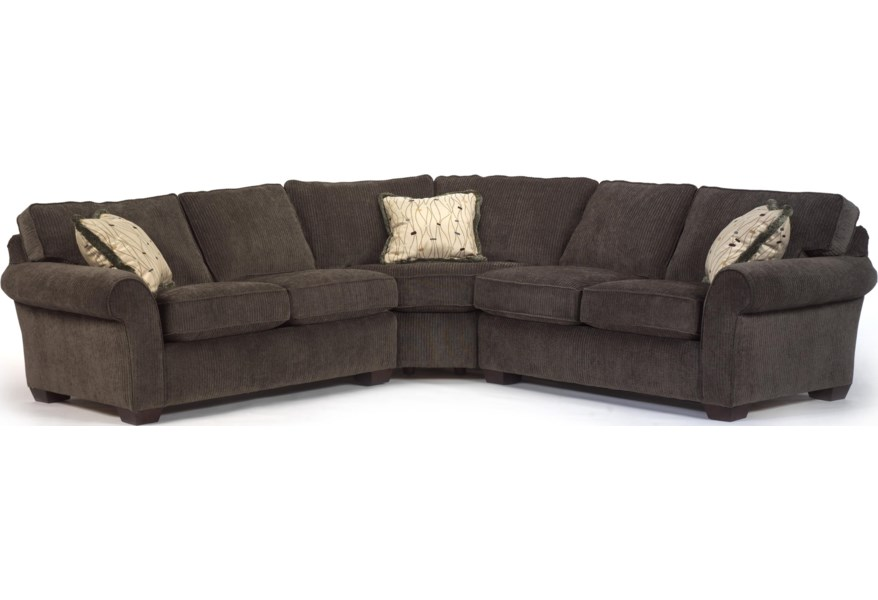 Flexsteel Vail Corner Sectional Sofa