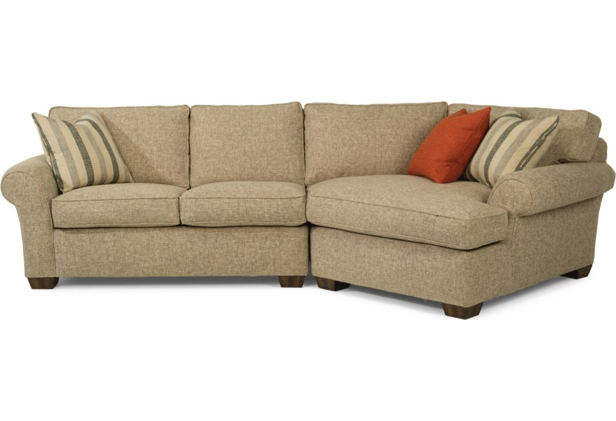 Piece Sectional With Raf Angled Chaise