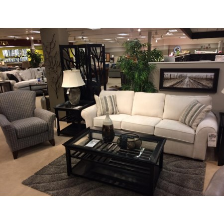 "91"" Vail Three Cushion Sofa"