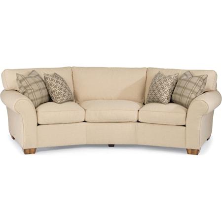 """107"""" Vail Conversation Sofa"""