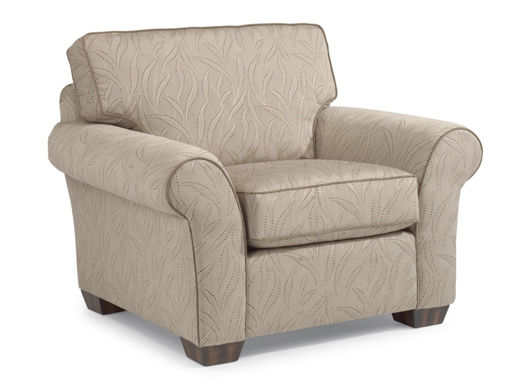 Flexsteel VailVail Chair and Ottoman