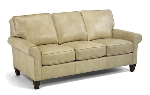 Flexsteel Sofa Bed Mattress: Flexsteel Westside Casual Style Sofa