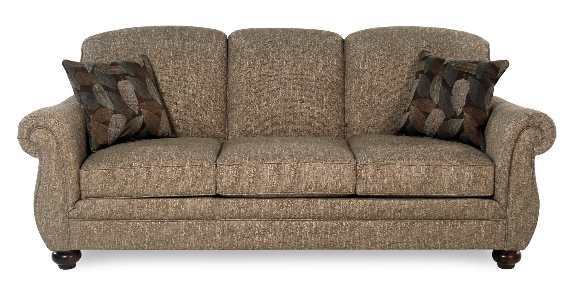Flexsteel Churchill Three Seat Stationary Sofa