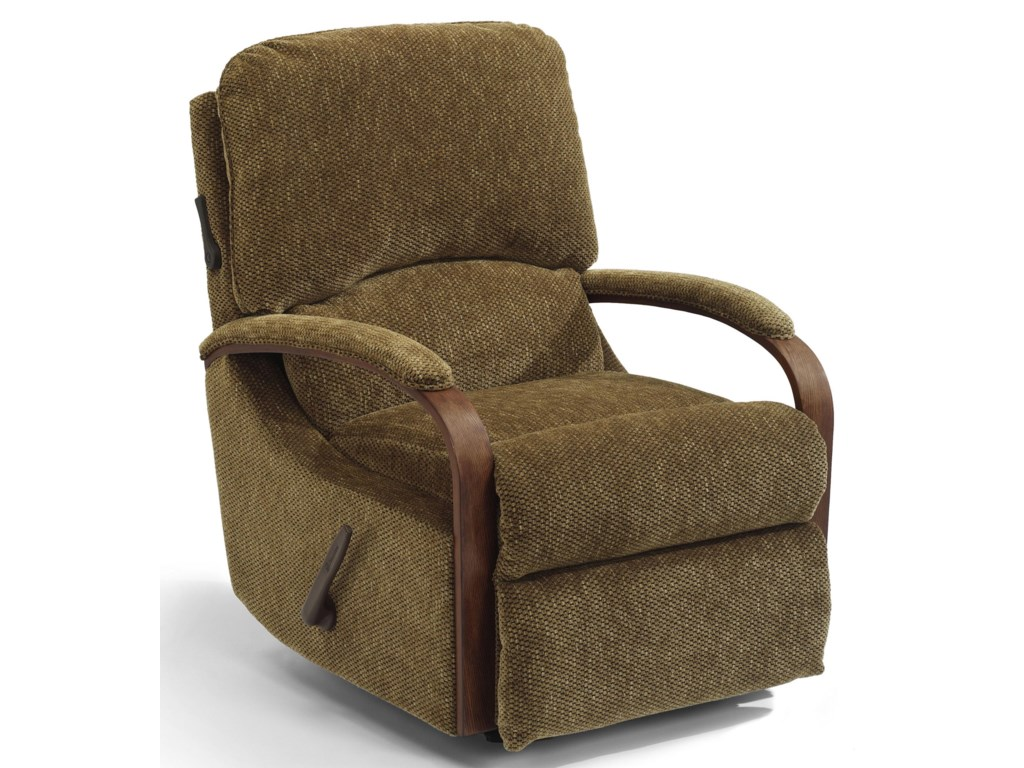 Flexsteel WoodlawnPower Rocker Recliner