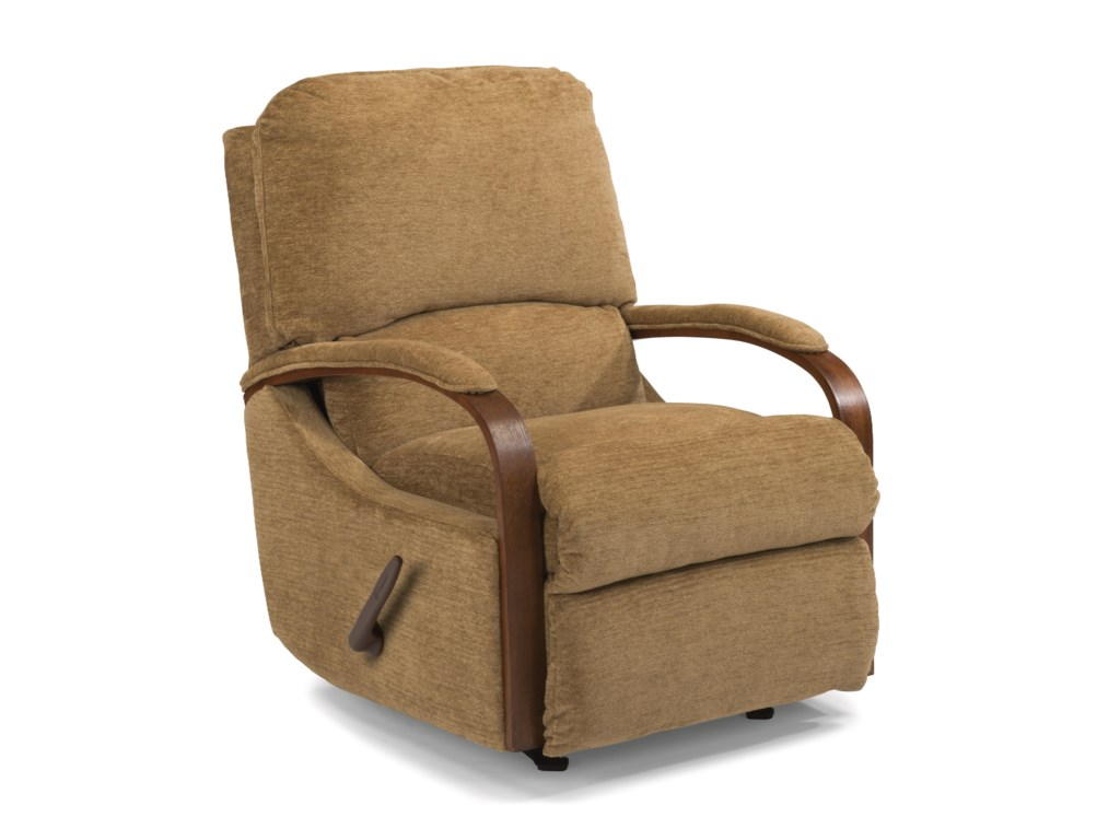 Flexsteel WoodlawnSwivel Glider Recliner