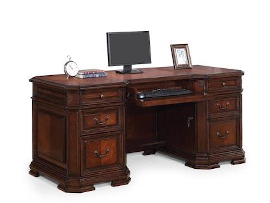 Flexsteel Wynwood Collection WestchesterExecutive Desk