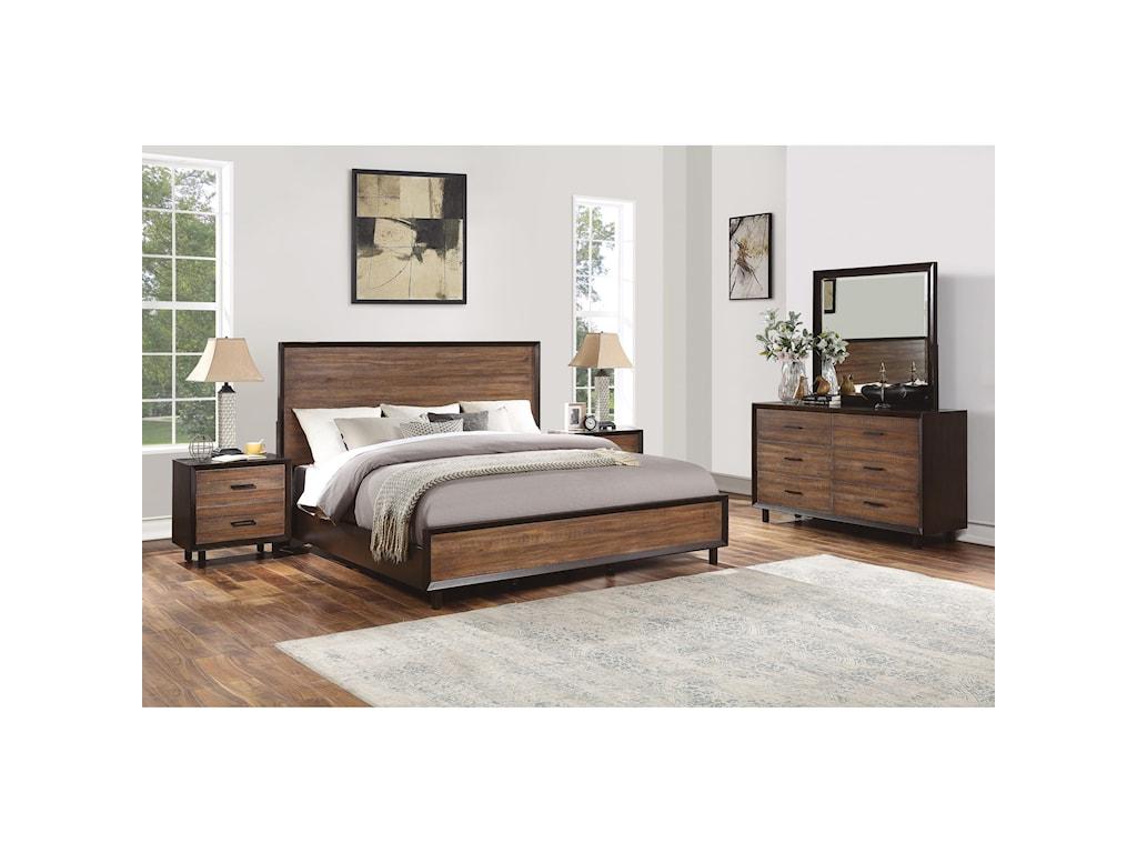 Wynwood, A Flexsteel Company AlpineFull Platform Bed