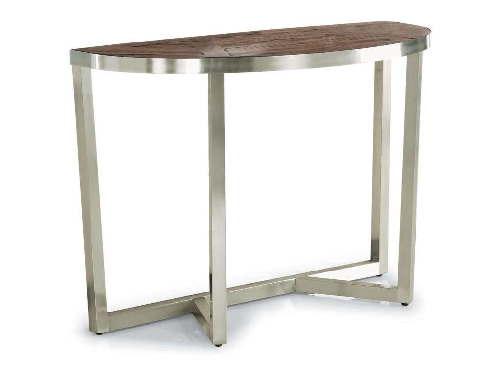 Flexsteel Wynwood Collection AxisContemporary Sofa Table