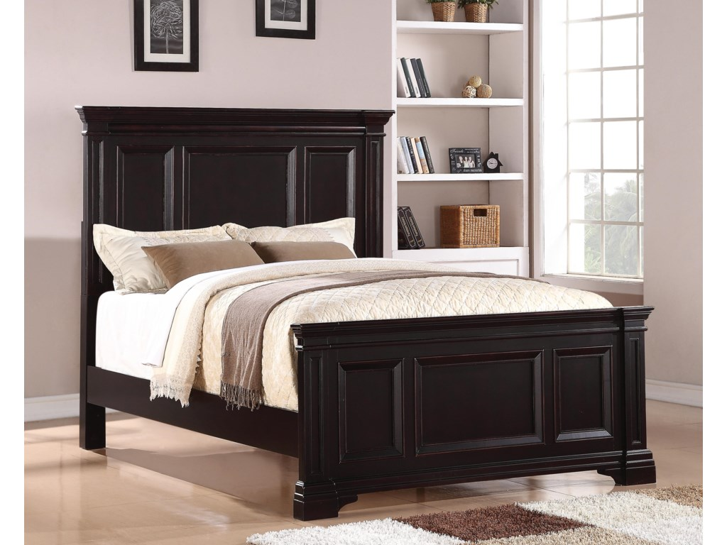 Wynwood, A Flexsteel Company CamberlyQueen Panel Bed