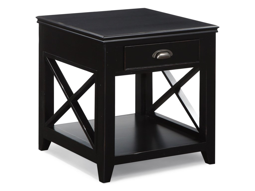 Flexsteel Wynwood Collection CamdenEnd Table