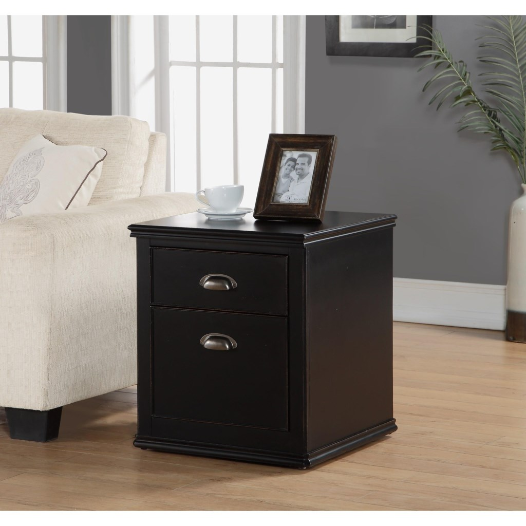 Flexsteel wynwood collection camdenfile cabinet