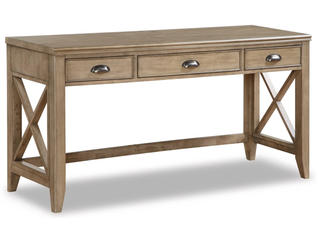 Flexsteel Wynwood Collection Camden60-Inch Writing Desk
