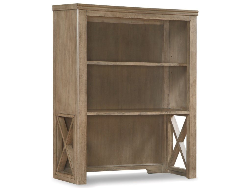 Flexsteel Wynwood Collection CamdenBookcase Hutch