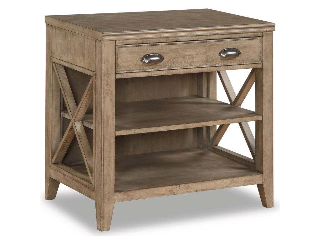 Flexsteel Wynwood Collection CamdenSmall Bookcase