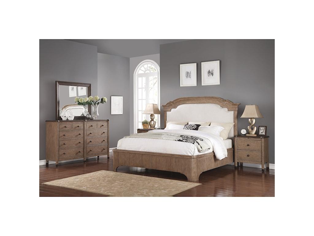 Wynwood, A Flexsteel Company CarmenCal King Bedroom Group