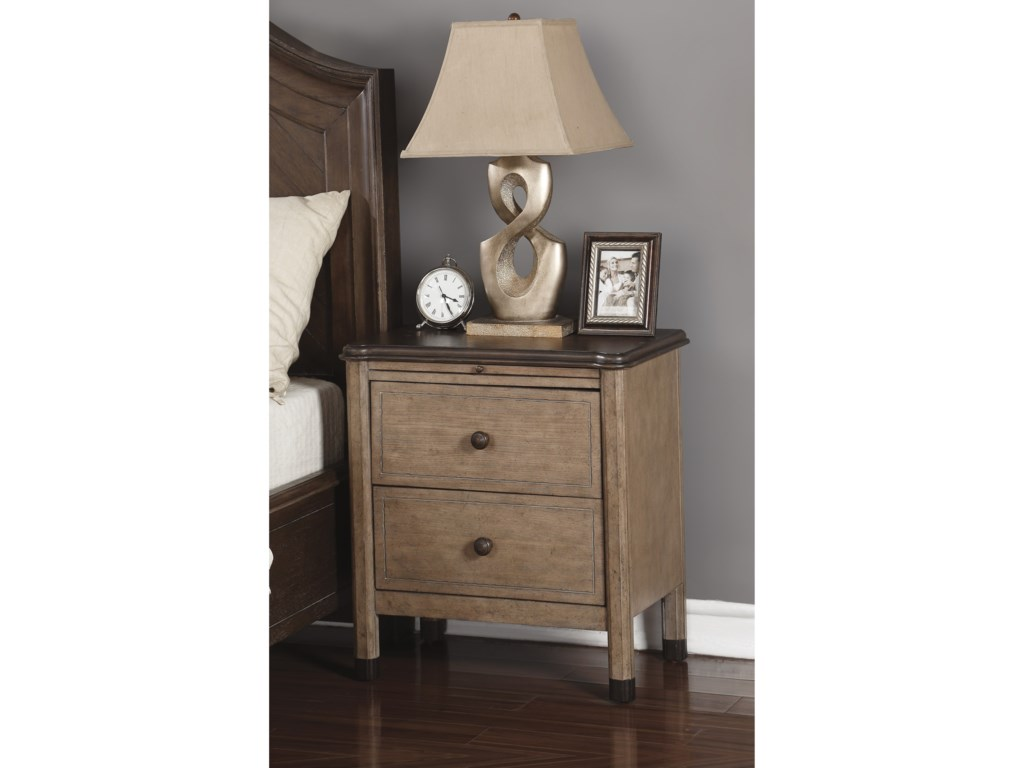 Flexsteel Wynwood Collection CarmenNight Stand
