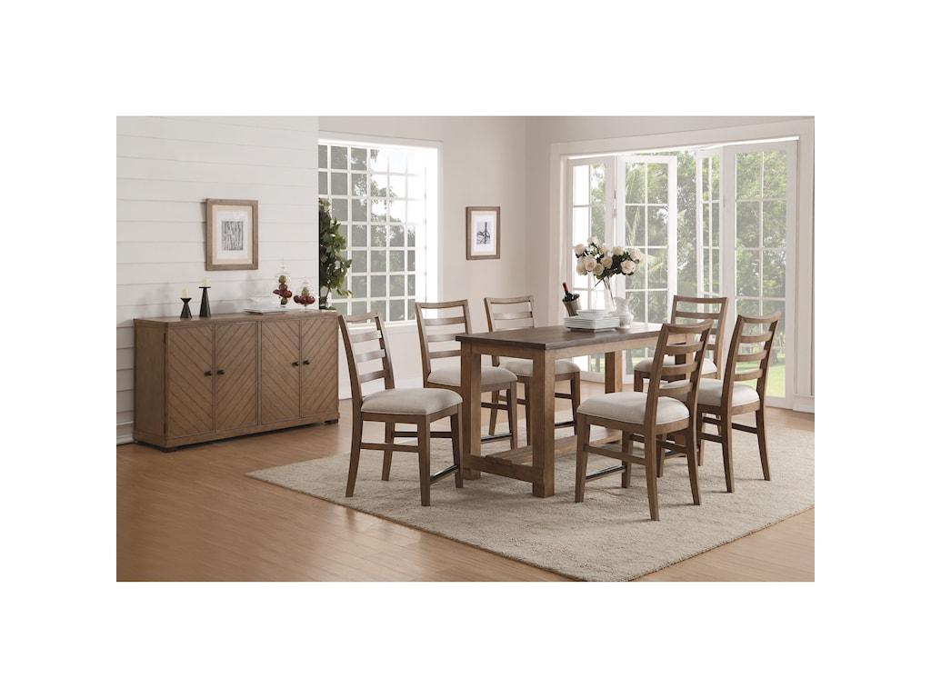 Wynwood, A Flexsteel Company CarmenCounter Height Dining Room Group