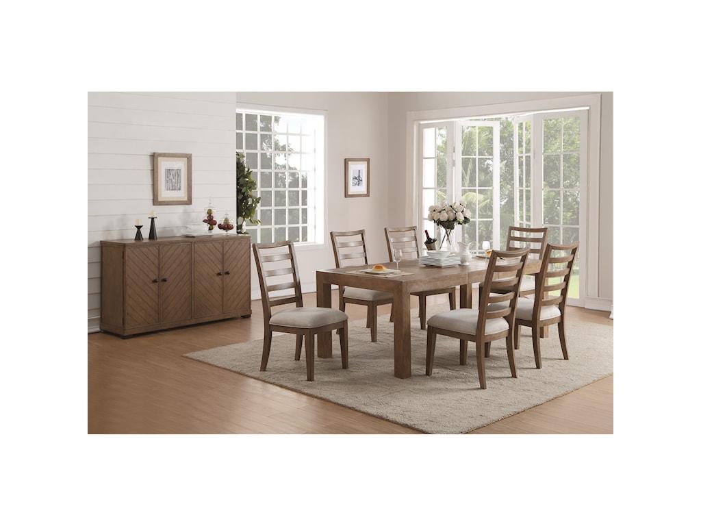 Wynwood, A Flexsteel Company CarmenFormal Dining Room Group