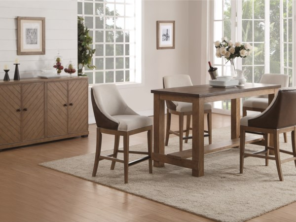 Bar Height Casual Dining Group